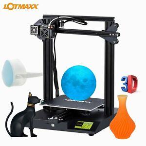 LOTMAXX  SC-10 Kit stampanti desktop 3D Stampa with gratuito 16GB TF card IT GLS