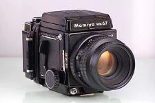 PREMIUM MAMIYA SLR 6X7 RB67 PRO S 127mm KL 120 645 WL FINDER CLA SERVICED TOP