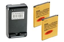 2x 2850mAh High Capacity Batteries,USB Wall Charger for Samsung Galaxy S3 i9300