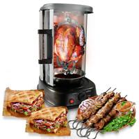 NutriChef PKRTVG34 Vertical Rotisserie Oven - Rotating Kebob Cooker