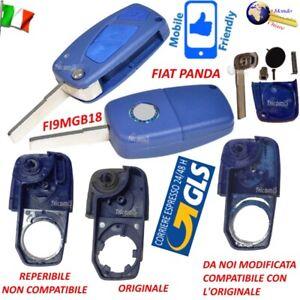 CHIAVE Telecomando GUSCIO FI9MGB18 LAMAFLIP 3TASTI per FIAT PANDA da noi modific