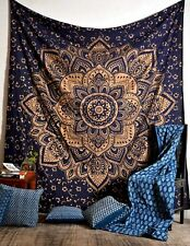 Mandala Wall Hanging Tapestry Home Decor Boho Hippie Queen Cotton Tapestry
