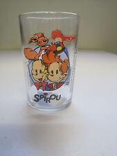 """vintage - verre à moutarde """" SPIROU """" 1994"""