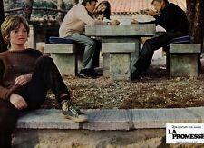 MARC POREL  PIERRE ZIMMER LA PROMESSE SECRET WORLD 1969 LOBBY CARD #10