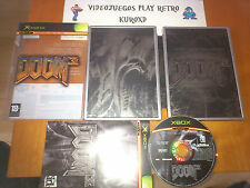XBOX DOOM 3 LIMITED COLLECTOR'S EDITION EDICION COLECCIONISTA PAL ESPAÑA