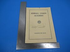 1964 New England Mutual Life Insurance Janet Gaynor Academy Award 1927 Ad Historical Memorabilia Collectibles
