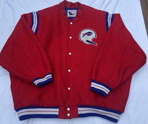 Men's Mitchell & Ness NFL Buffalo Bills varsity jacket Sz 5XL 64