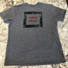 Billabong Men��s Graphic Print Gray T Shirt