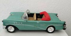 Voiture Miniature BUICK 1955 NEwRay Verte 1/43