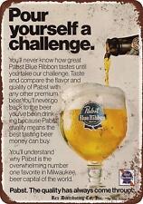 """1976 Pabst beer Vintage Retro Metal Sign 8"""" x 12"""""""