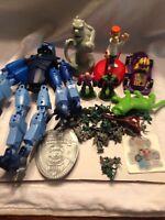 Vintage Lot F action figure mixed Jetsons Go Bots Army Men DC Comics