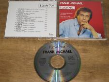 CD FRANK MICHAEL I LOVE YOU SIGNED