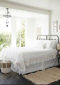 NWT Matilda Jane Clothing King Boho Dream Bed in a bag White Duvet Shams Set
