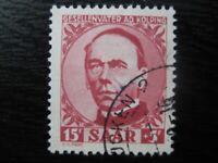 SAAR SAARLAND Mi. #289 scarce used stamp! CV $120.00