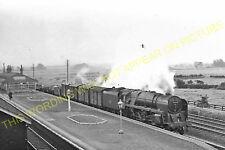 Ulleskelf Railway Station Photo. Church Fenton - Bolton Percy. York Line. (2)