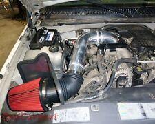 BCP RED 2004-2005 Silverado Diesel LLY 6.6L Cold Air Intake System +Heat Shield