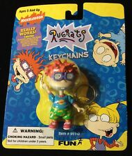 Chuckie Keychain w/ Glasses that Change Expression! 1997 Nickelodeon RugRats