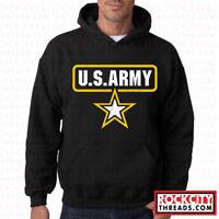 ARMY STANDARD HOODIE United States Military Hooded Sweatshirt Usarmy Ranger USA