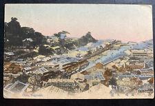 1921 Nagasaki Japan Picture Postcard Cover To Washington DC USA City View