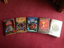 UK 1st Print Set of A Game of Thrones - George R R Martin A Song of Ice and Fire