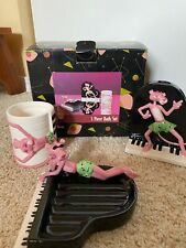 Brand New Pink Panther Collectable 3 Piece Bath Set