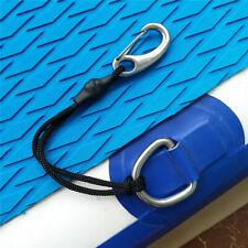 Elastic Shock Cord Bungee Rope Lanyard w/ Metal Clip Hook for Kayak Boat
