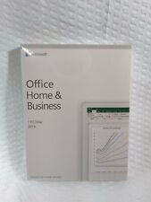 Microsoft Office Home and Business 2019 For 1 PC - New & Sealed