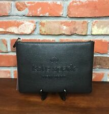 Kate Spade Ash Street Leather GIA Pouch Black