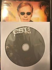 CSI: Miami - Season 10, Disc 2 REPLACEMENT DISC (not full season)