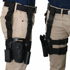 Quick-release Tactical Military Paddle Belt Thigh Hand Drop Leg Holster for 1911