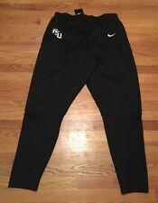 New Nike Men's L Florida State FSU Seminoles Football Training Pants Black