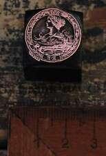 Medaille FRANCE - FRANKREICH Galvano Druckstock Druckplatte Kupferdruckstock