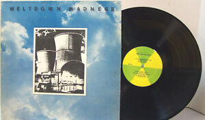 LP - Meltdown Madness - Self Titled - PRIVATE LABEL ELECTRIC FOLK BLUES