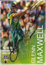 ✺Signed✺ 2014 2015 AUSTRALIAN Cricket Card GLENN MAXWELL Big Bash League