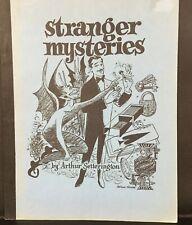 Stranger Mysteries by Arthur Setterington (OOP)
