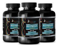 Wormwood Seeds - ANTI-PARASITE COMPLEX - Colon Cleanse Detox Pills 3 Bottles