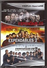 The Expendables 1, 2 & 3 - DVD Triple Feature Collection BRAND NEW