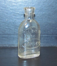Amsco Miniature Doll E Toys Glass Bottle