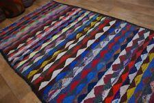 nr 147 Handgewebter VINTAGE Teppich KURDISTAN NOMADEN KILIM KELIM ca 260 x 135