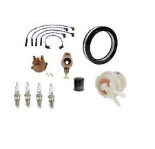 Complete Tune Up Kit Cap Rotor Filters Wire plugs Toyota Pickup 80-83