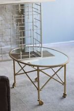 Glass Oval Contemporary Tables