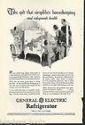 1928 General Electric Refrigerator advertisement, MONITOR-TOP fridge, Christmas photo