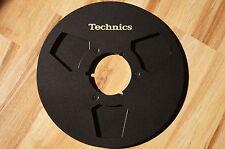 """2x Technics NAB metal empty reels 10.5"""" 26.5cm Aluspulen for Akai adapter LAST"""