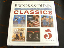 CD Box Set: Brooks & Dunn : Original Album Classics : 5 CDs Sealed