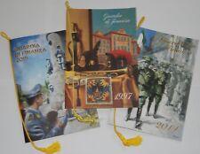 lotto 3 CALENDARIO STORICO GUARDIA DI FINANZA anno 1997 e regalo 2014 2015