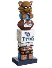 Tennessee Titans Tiki Tiki Totem Statue NFL Football Mascot T-Rac