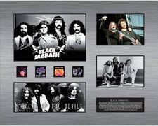 New Black Sabbath Signed Limited Edition Memorabilia Framed