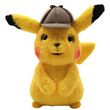 Detective Pikachu Pokemon Plush Toy spin-off Pokedoll Stuffed Animal Doll 9""