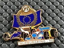 PINS PIN BADGE CAR F1 FORMULE 1 NURBURGRING 95