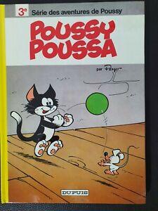 Bande dessinée BD EO 1977 Tome 3 Poussy NEUF - Peyo -  spirou tintin asterix